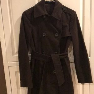 Brown trenchcoat from the Gap
